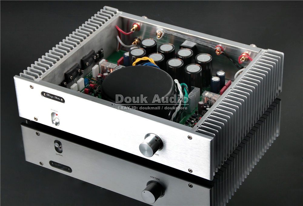 2018 Latest Nobsound Hi-End Power Amplifier 2.0 Channel Stereo HiFi Amp 130W*2 Reference Burmester 933 Amplifier Circuit