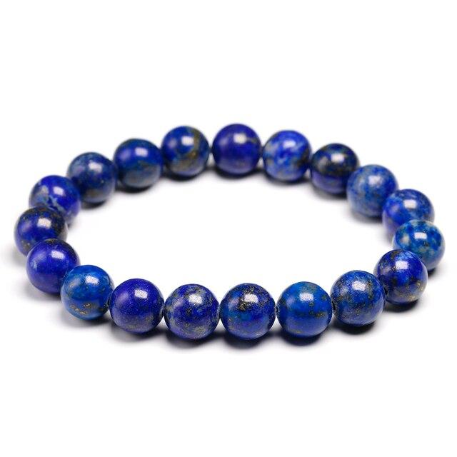 Bracelet Pierres Porte-Bonheur Lapis Lazuli 10