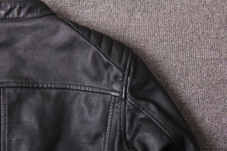 HTB1Z1i8XorrK1RkSne1q6ArVVXa1 Free shipping.New style warm mens clothes,motor biker leather Jackets,man black genuine Leather jacket.homme slim,cool,sales
