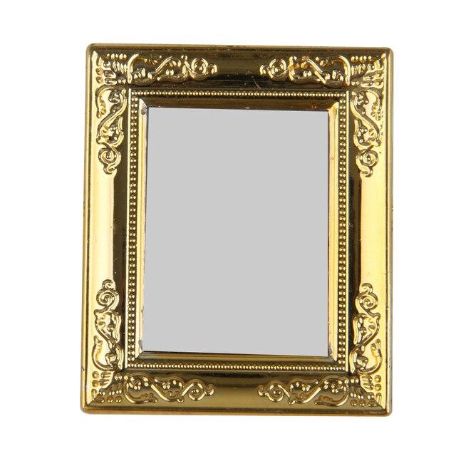 Cornice Specchio Fai Da Te.Di Alta Qualita 1 12 Miniatura Casa Delle Bambole Fai Da Te Cornice