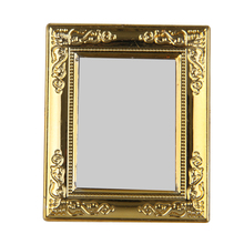high quality 112 dollhouse miniature diy frame mirror birthday gift pretend play classic toys - Miniature Frames