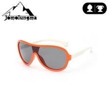 Jomolungma поляризованные солнцезащитные очки для детей с чехлом для мальчиков и девочек, детские очки для рыбалки, пешего туризма, спортивные очки вне UV400, защита D895