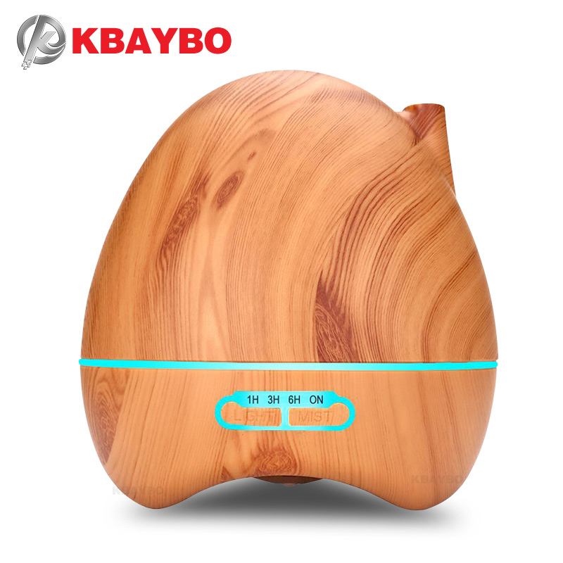 300ml Aroma Essential Oil Diffuser Ultrasonic Air Humidifier with 4 Timer Settings 7 Color Changing LED lamp Whole House Humidi 500ml remote control aroma essential oil diffuser ultrasonic air humidifier with 4 timer settings 7 color changing led lamp k198