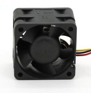 Image 3 - Ventilateurs de serveur à grande vitesse, pour Sunon, original PMD1204PQBX A, 4CM, 4028 12V, 6.8W, 40x40x28mm