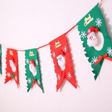 The Christmas festival ornaments the flag free shipping