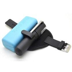 الأزرق gavia مصغرة التلقائي التضخم الهواء حقيبة مع حقيبة زرقاء لتغطية co2 الصلب اسطوانة للخارجية السباحة الرياضة الحياة جهاز آمن