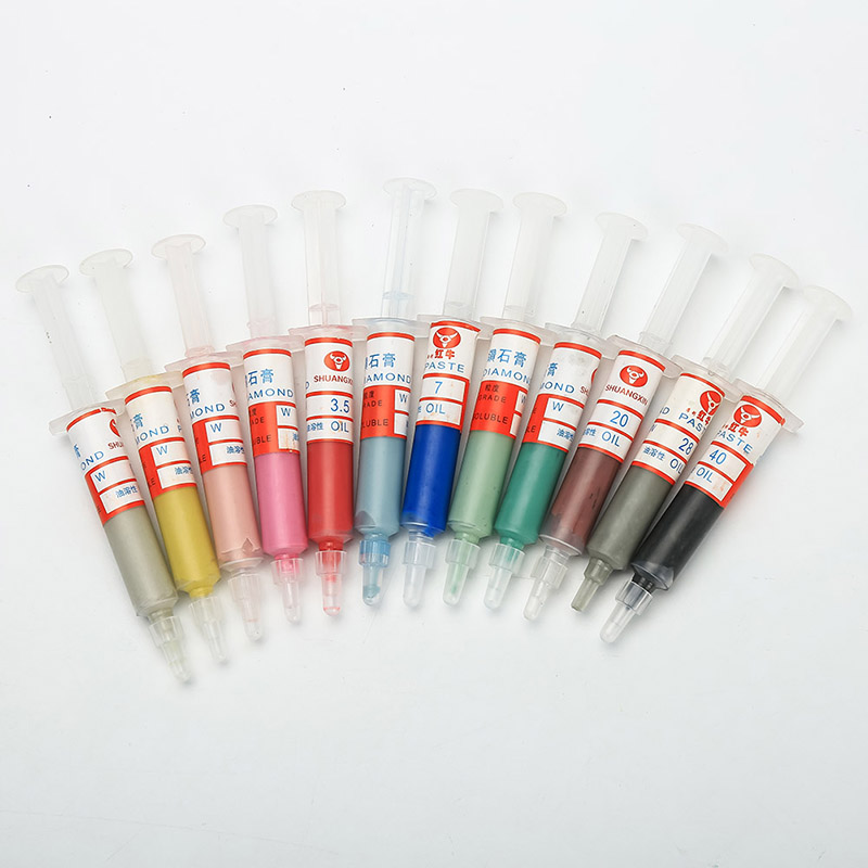 Wholesale Diamond Abrasive Paste Needle Tube Grinding Polishing Paste Lapping Compound W0.5-W40