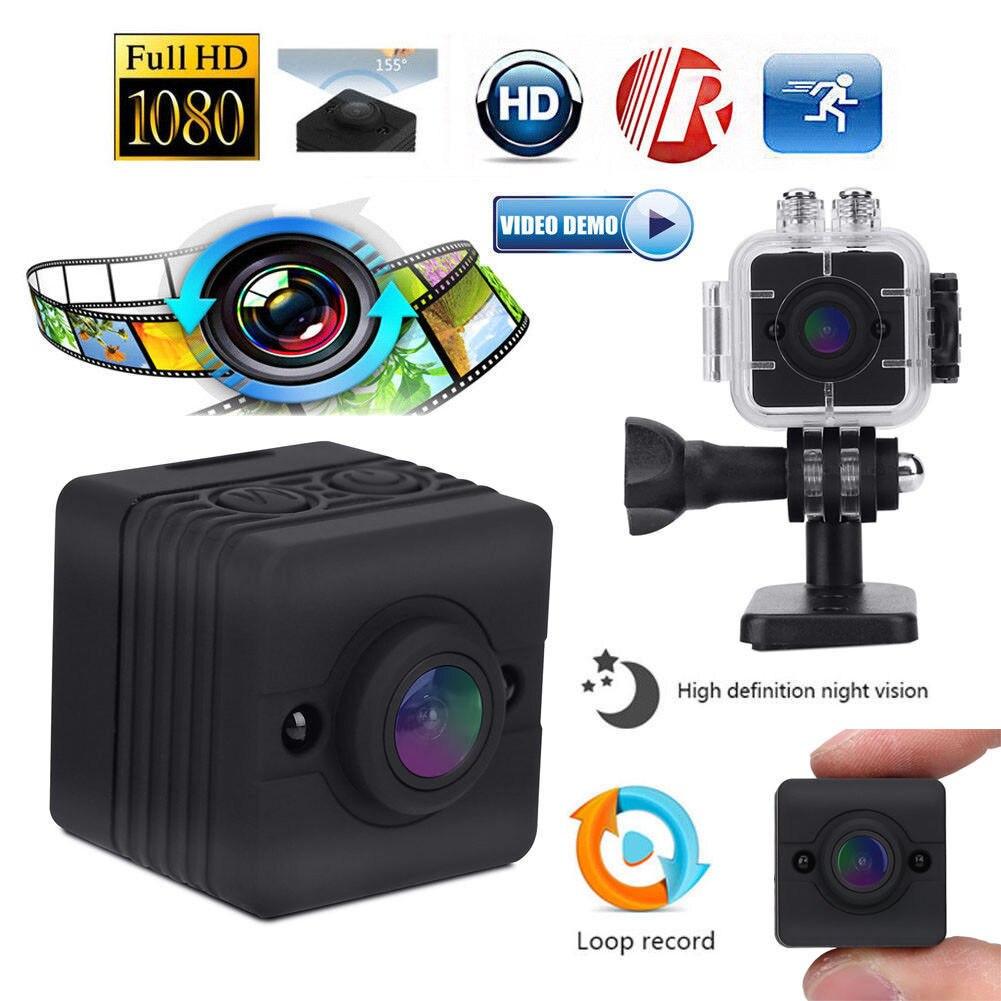 32 GB carte + SQ12 Mini caméra 1080 P FHD Sport caméra caméscope Vision nocturne étanche