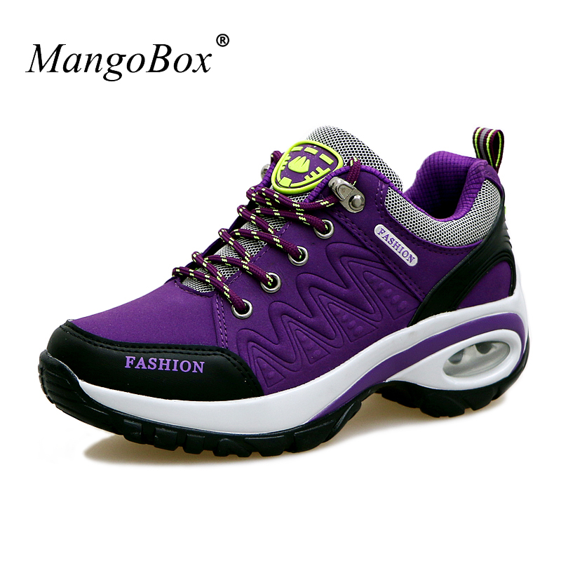 2016 Breathable Hiking Boots Women Non-Slip Hunting Boots Women Purple Red Women Sneakers Outdoor Shockproof Outdoor Shoes Woman