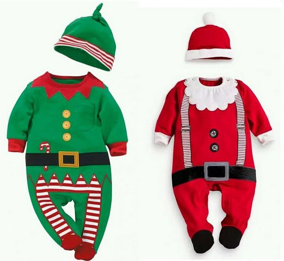 Baby Kids Rompers 2016 Ropa De Bebe Christmas Hooded Baby Costume Snow Wear Rompers Newborn Cotton Jackets Clothes Top+Hat baby boys girls clothes newborn bebe rompers costume short sleeve ropa de bebe 100%cotton clothing 5pcs lot unisex 0 9months