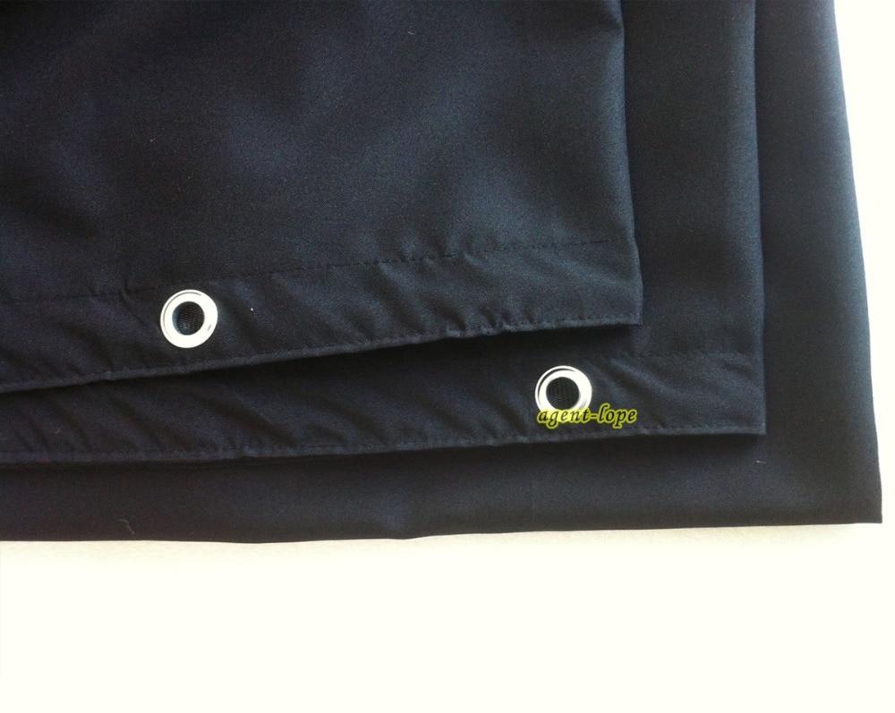 3 6x3 6m 12 x12 12x12 Black Blending Reflector Fabrics Medium Thickness Light Black Out Background