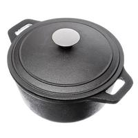 COOK PAN Vetta 3 8 Cast Iron Kitchen Pan Kitchen Cookware Pot Kettle Thermos Spoon Grill