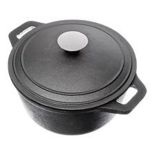 "Pan ""Vetta"" 3,8 gusseisen küche pan küche kochgeschirr topf wasserkocher thermos löffel grill induktion rabatt verkauf 808-019"