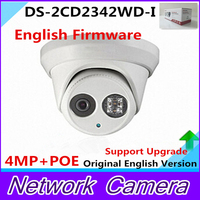 DS 2CD2342WD I English Version 4MP CCTV Camera EXIR CCTV Camera 120dB WDR P2p Ip Camera