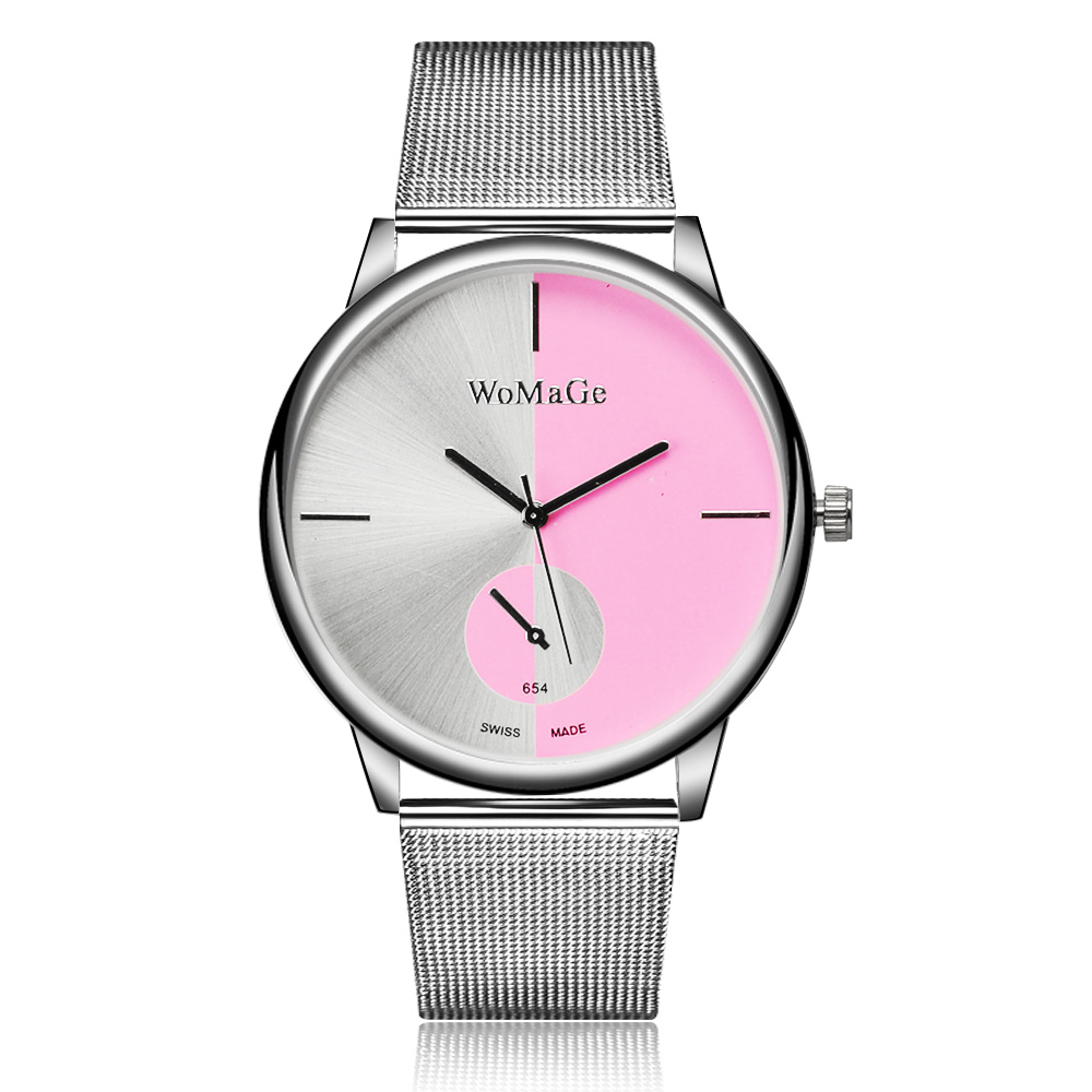 где купить Hot Sale Fashion Watch Women Watches Luxury Silver Watch Full Steel Quartz Watch Clock saat relogio feminino reloj mujer по лучшей цене