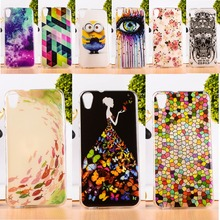 Protective Skin Shell Housing DIY Painted Soft TPU & Hard Plastic Cover For HTC Desire 820 Dual Sim 820G 820S Phone Cases Cover