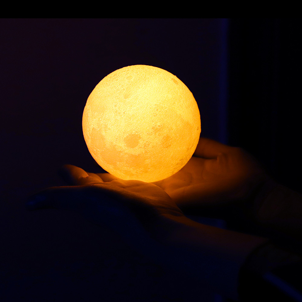 HTB1Z1jvdCMmBKNjSZTEq6ysKpXaN Moon Light 3D Print Moon Globe Lamp, 3D Glowing Moon Lamp With Stand, Luna Moon Lamp Night Light for Home Bedroom Decor Children