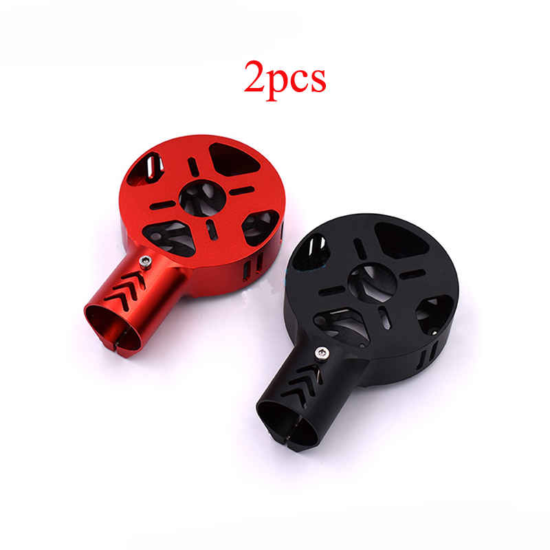 2PCS 25mm Motor Fixture Mount Motor Fixed Seat Base Holder Motor Bracket Support for 25mm Tube