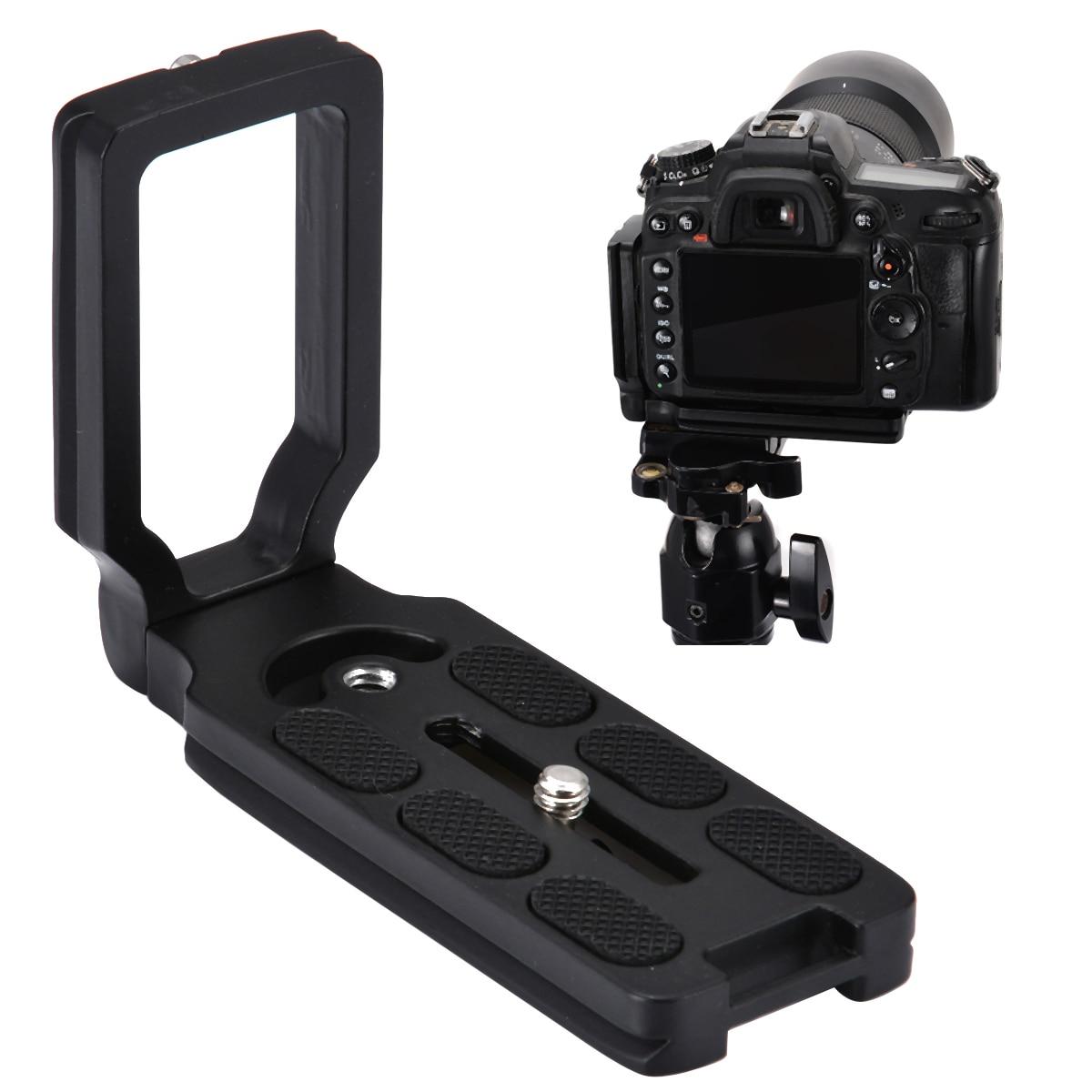 Onsale 1pc Aluminum Alloy L Plate Quick Release L Plate Bracket With Screw For Nikon D7200 D800 D750 D5500 D3300 D810a Mayitr