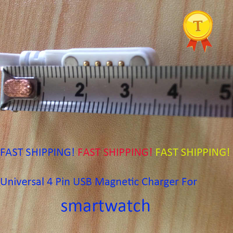 2018 fast shipping smart watch phonewatch USB Magnetic Charger Cable