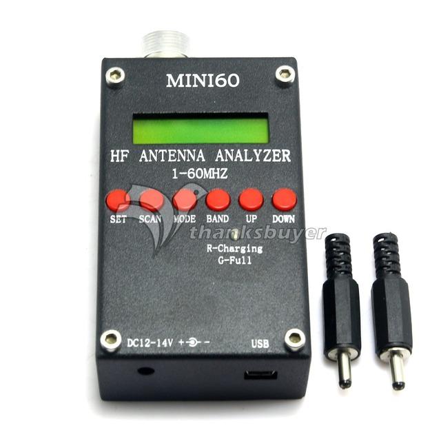 MINI60 SARK100 Analizador de Antena 1-60 Mhz HF Android Bluetooth para PC Versión Mejorada