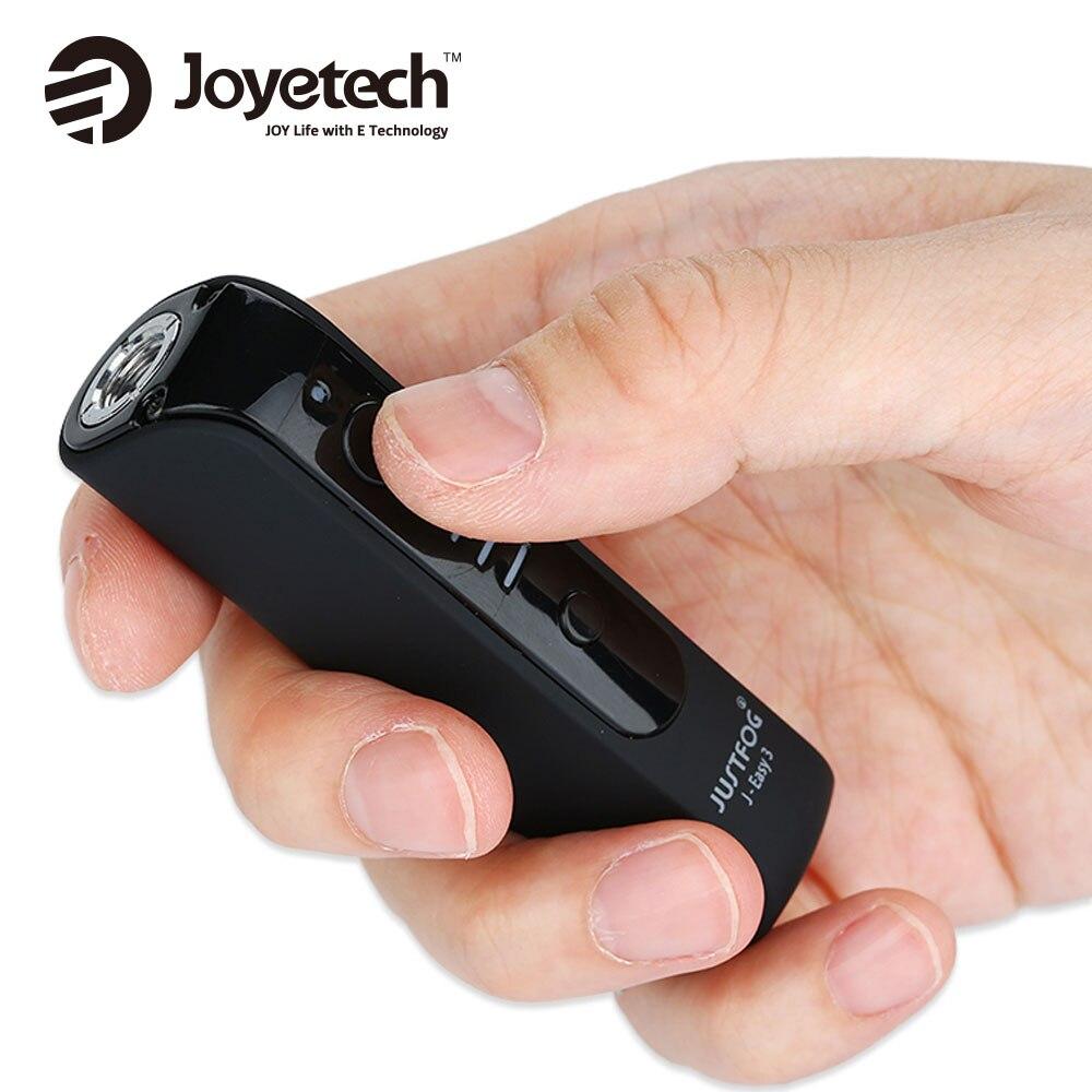 Hot Ursprüngliche JUSTFOG J-Einfach 3 Batterie mit 900 mAh Batterie Einstellbare Ausgangsspannung mit 3 Ebenen für P16A zerstäuber Justfog Kit