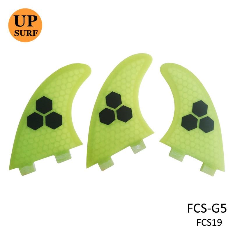FCS Fin Surf тақталары F5 G5 Orange / Blue / Green / Gray - Су спорт түрлері - фото 1