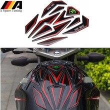 3D наклейка для мотоцикла Мото Бензобак Защитная Накладка декоративная наклейка для Honda Yamaha KTM Suzuki Kawasaki BMW