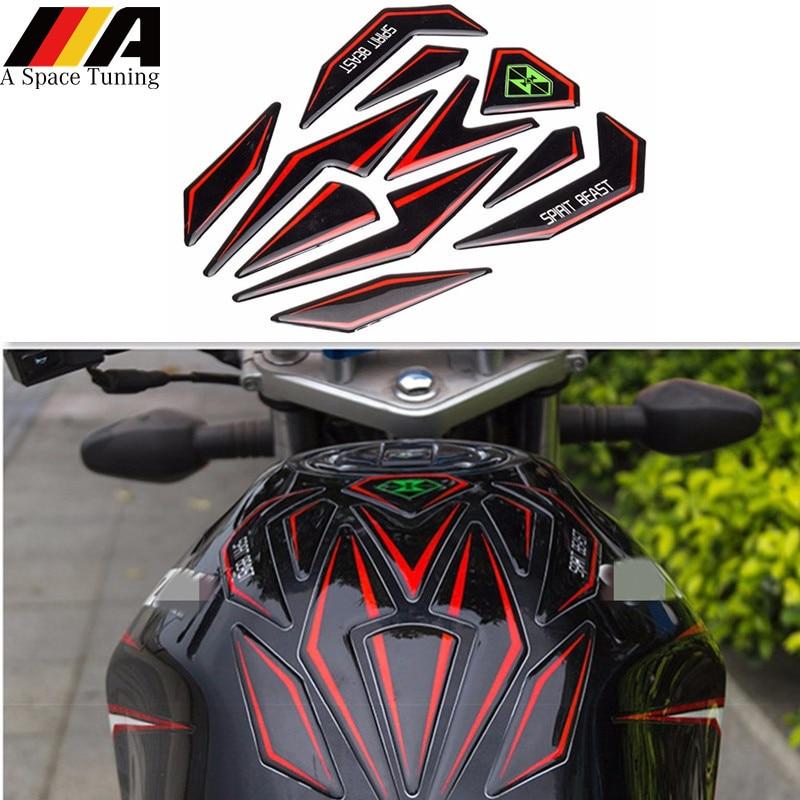 Moto 3D Motorcycle Tank Pad Protector Fit for Suzuki Yamaha Honda Harley