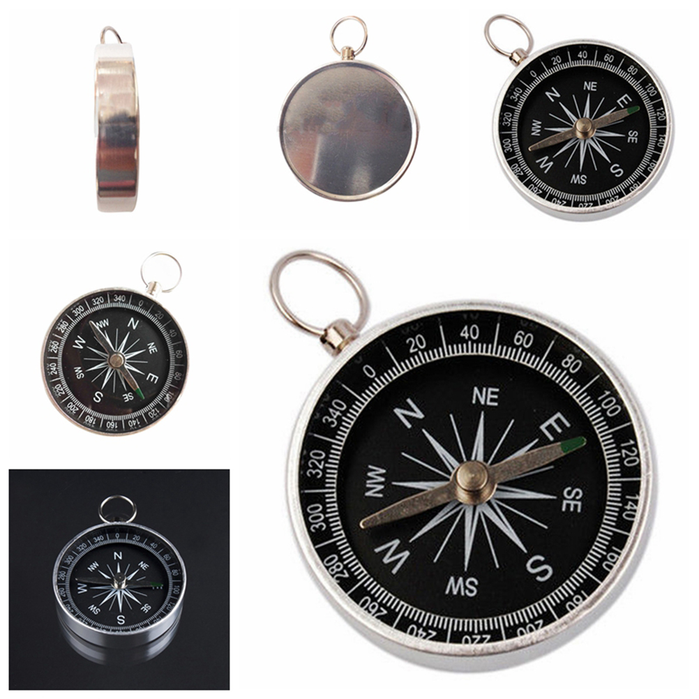 60mm Mini Portable Pocket Compass for Camping Hiking Outdoor Sports Navigation