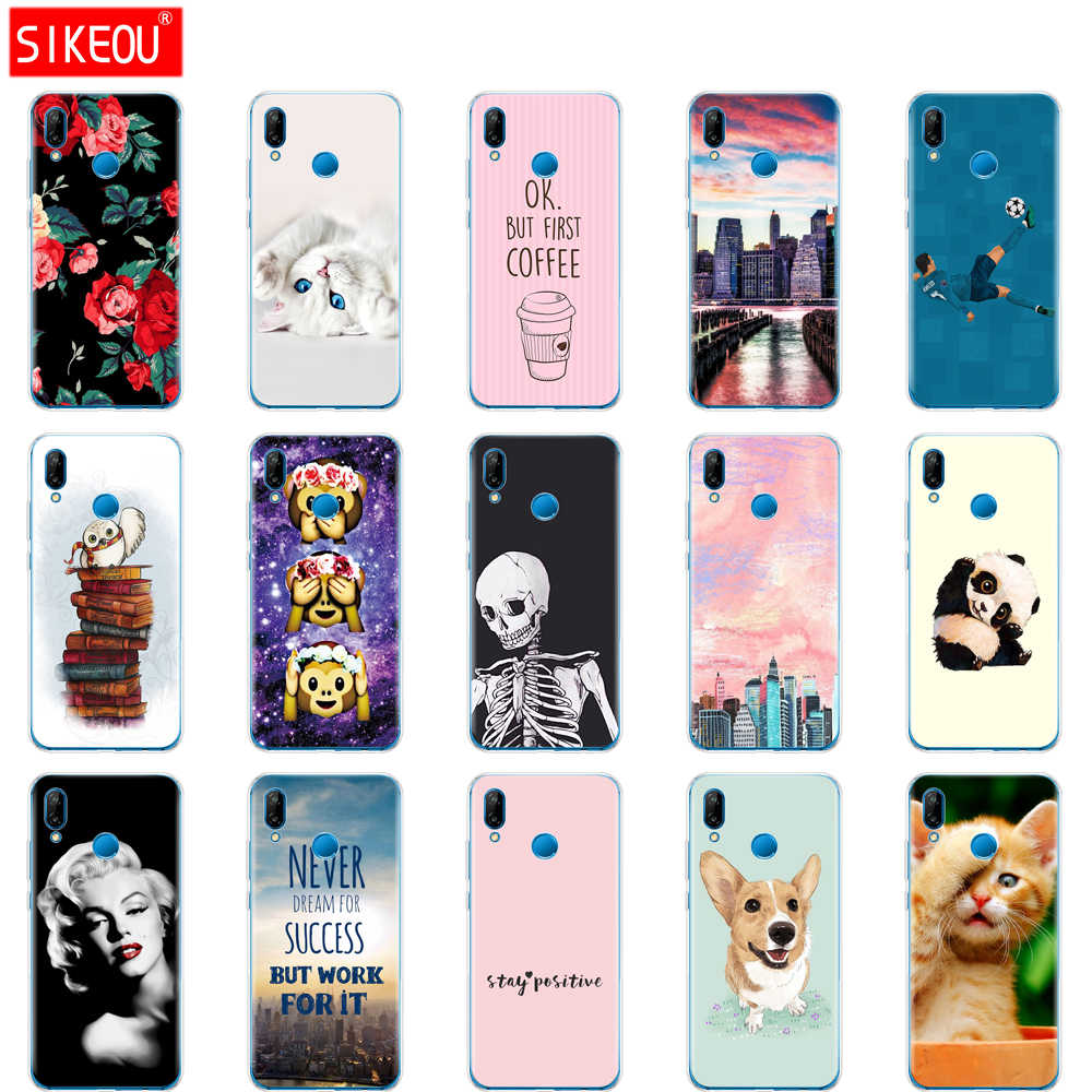 case for huawei P20 LITE case cover for huawei p20 pro case back cover silicone 360 full protective P 20 Lit Coque etui pink