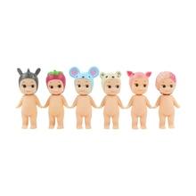 6 adet/grup Sonny melek figürü oyuncak Sonny melek Kewpie bebek hayvan fare domuz Sakura bebek modeli bebekler çocuklar için hediye