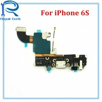 1pcs Lot New Charger Port USB Dock Connector Flex Cable For IPhone 6S 4 7 Headphone