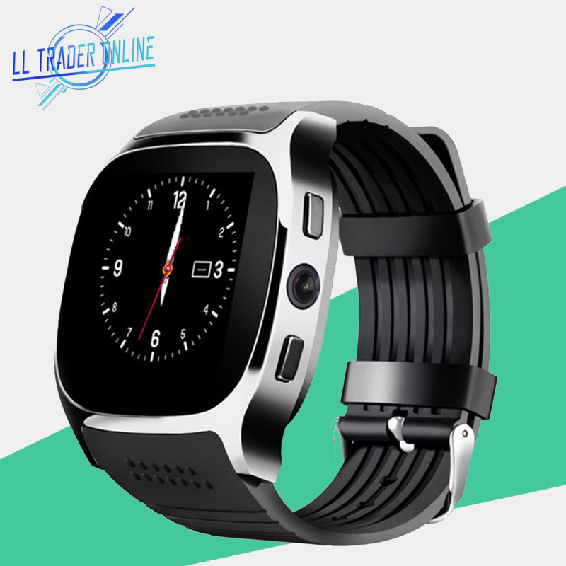 цена на LL TRADER Smart Watches Clock For Men Smartwatch Sports Activity Record For Android Bluetooth 3.0/4.0 With Camera Support