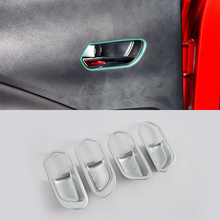 ABS Auto Styling Matte Style Left Side inner door handle cover 4Piece For Nissan 17 KICKS 4piece 100 page 7