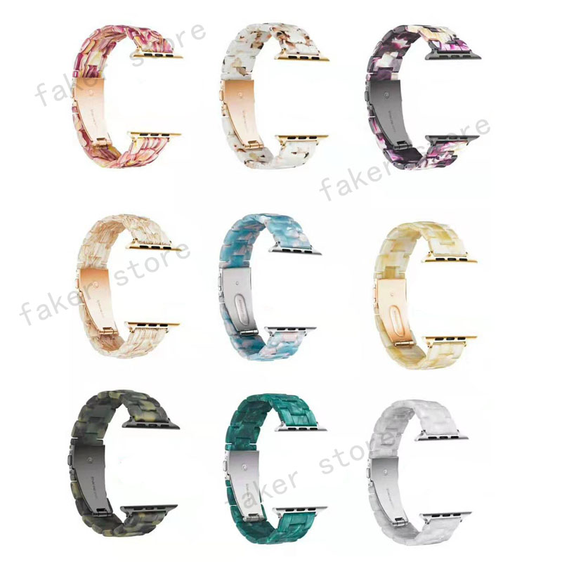 Fashion colorful Resin strap band for apple watch series 4321 42mm 38mm iwatch bracelet wrist belt Watch accessories watchbandFashion colorful Resin strap band for apple watch series 4321 42mm 38mm iwatch bracelet wrist belt Watch accessories watchband