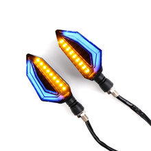 12V 2 Pieces Flashers Motorcycle Turn Signal Light Indicators Left Right Amber Lamp Flexible light lamp Waterproof LED Blinker 8001640000 8001630000 thyssenkrupp velino ft823 escalator handrail inlet 2 pieces left 2 pieces right