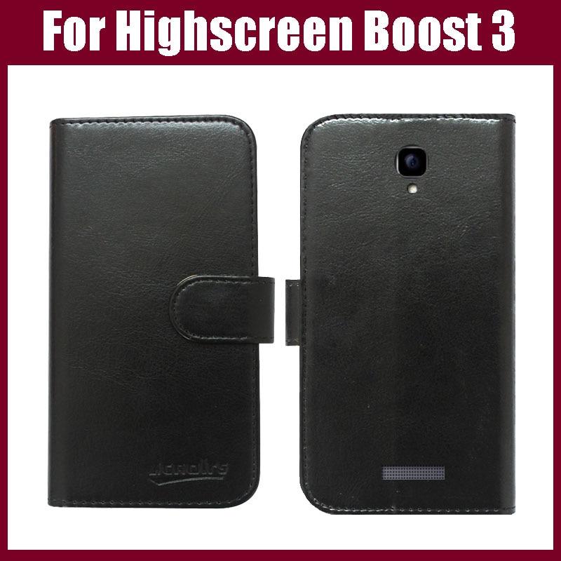 Highscreen Boost 3 Kasus Baru Kedatangan Kualitas Tinggi Balik Kulit - Aksesori dan suku cadang ponsel - Foto 1