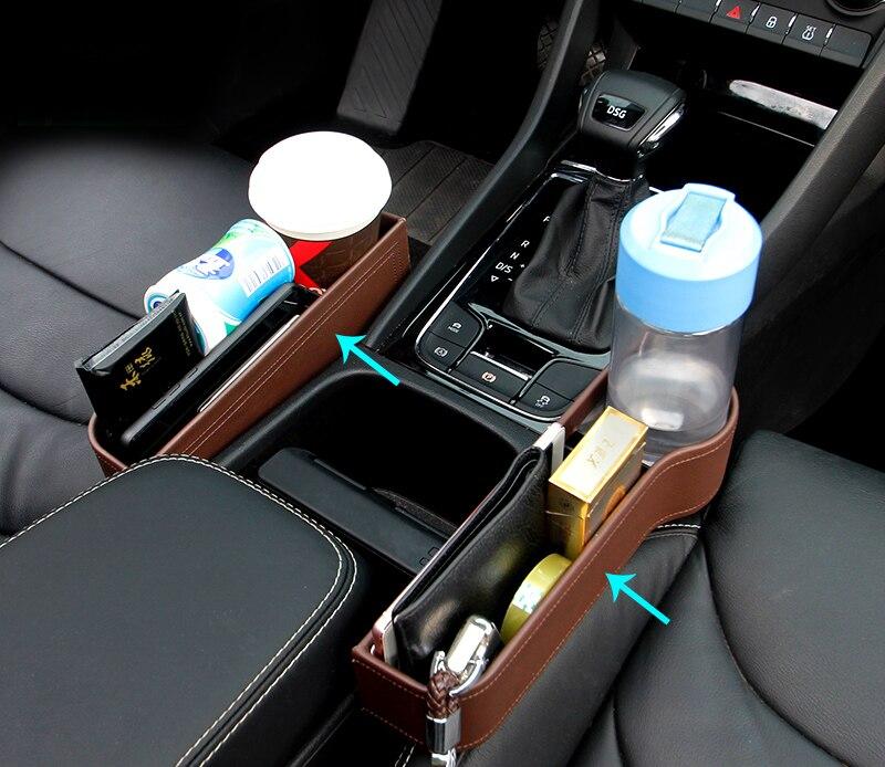 2pcs for SKODA KODIAQ Superb Octavia Seating crevice Storage box