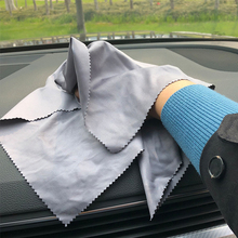 1 шт. Впитывающее микроволокно полотенце для автомобиля Очищающая высушивающая ткань для ухода за автомобилем Ткань детализирующая машинная стирка 30x30 см цвет случайный