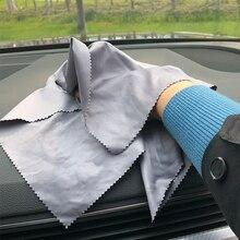 1pc In Microfibra Assorbente del Tovagliolo di Pulizia Dellautomobile di Secchezza del Panno Cura dellauto Panno Detailing Lavaggio Auto 30x30cm Colore casuale