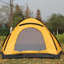Outdoor camping tent 2-3 person beach tourist tents waterproof Walking and hiking Tent Camping equipment 1.8KG