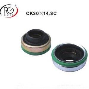 Image 1 - רכב מדחס שפתיים סוג גומי רכוב פיר חותם/עבור DK CA11A, ND10PA15/17/20 OEM חותם R134a, מדחס