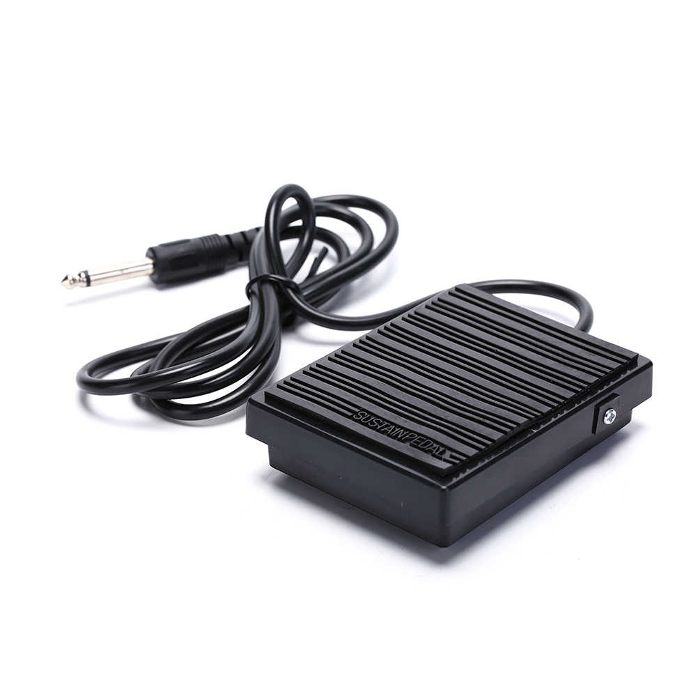 Universal Black Foot Sustain Pedal Controller Switch For Electronic Piano Keyboards Instruments Musical Tone Piano Accessories