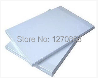 260g a4 size polyester inkjet canvas photo paper 50 sheets one bag