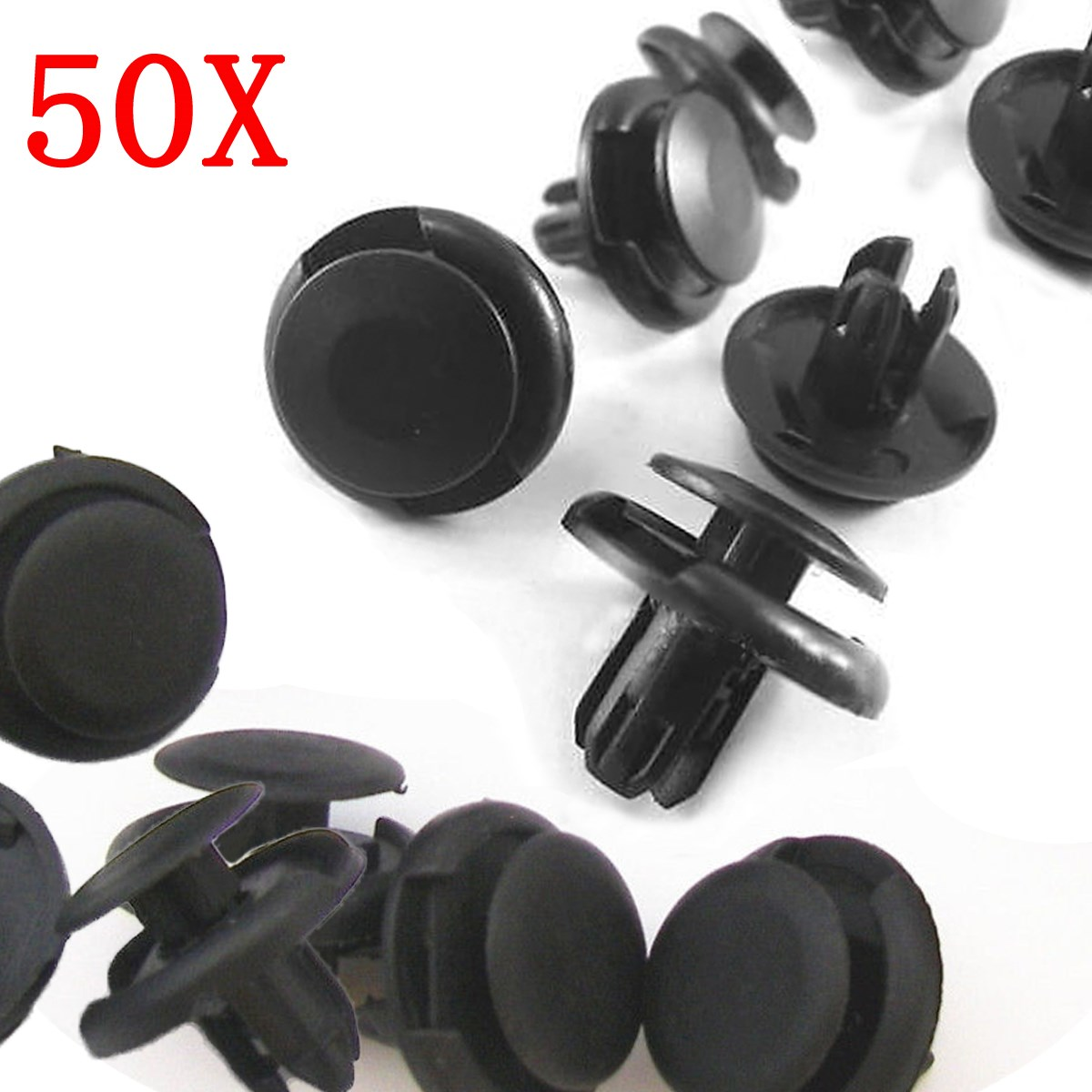 20x 8mm Car//Van Panel//Trim Pins-Clips-Fasteners-retainers-rivets-Charity Sale