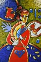 Ручная роспись абстрактная живопись маслом на холсте Картина