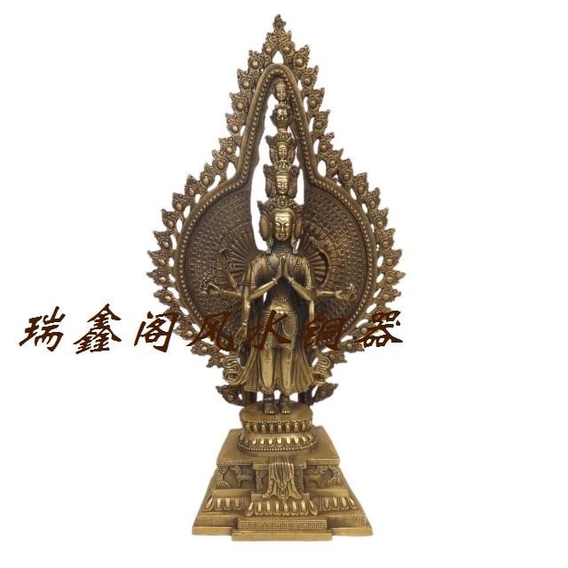 Bronze statue copper decoration Large feng shui products apotropaic