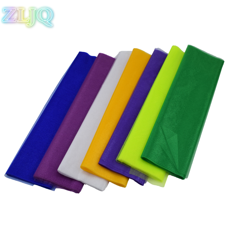 ZLJQ Tulle Fabric Spool 0.48*10m Organza Baby Shower DIY Christmas Wedding Party Decoration Supplies Navidad Decorcion 7D