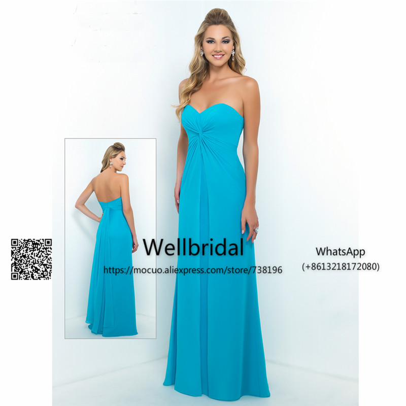 Popular 2019 New Bridesmaid Dress Long Off Shoulder Wedding Guest Dress Vestido Longo De Festa Chiffon Prom Bridesmaid Dresses